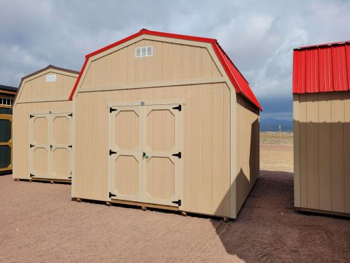 12x16 Barn Style Shed 1