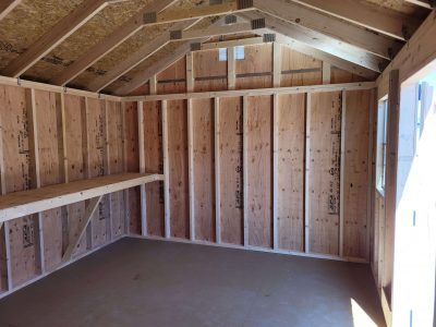 12x16 Gable Style Shed 9