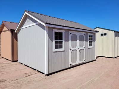 12x16 Gable Style Shed 10