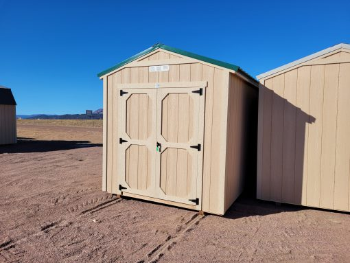 8x12 Gable Style Shed 4