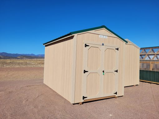 8x12 Gable Style Shed 1