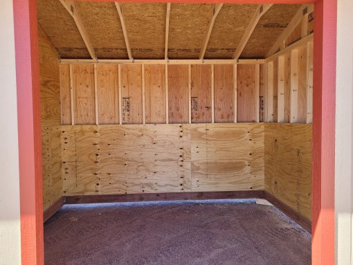 10x18 Loafing Shed w/Tackroom 7