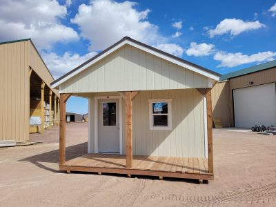 14x36 Gable with Porch Style 14