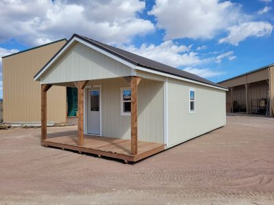 14x36 Gable with Porch Style 11