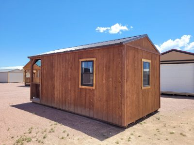 10x20 Gable with Porch (with Interior Finish) 11