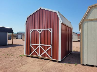 10x12 Barn Style Shed 9