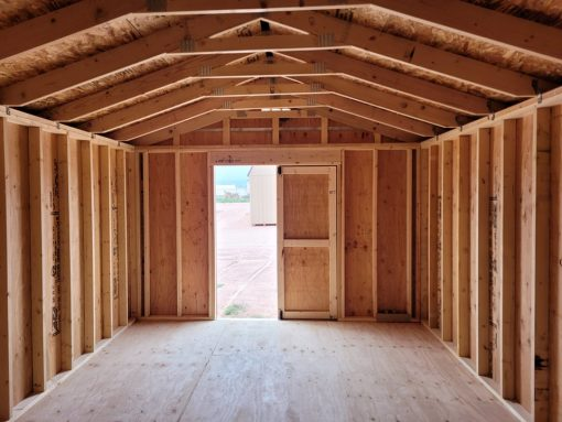 12x20 Gable Style Shed 2