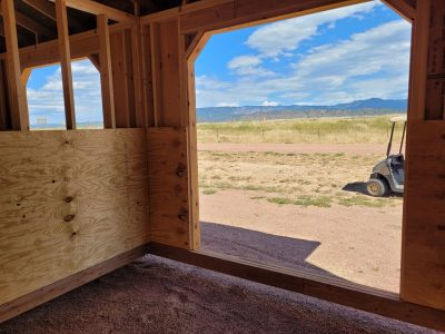 10x20 Loafing Shed 14