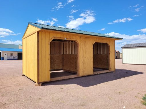 10x20 Loafing Shed 3