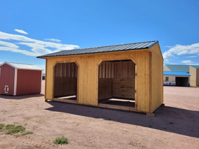 10x20 Loafing Shed 11