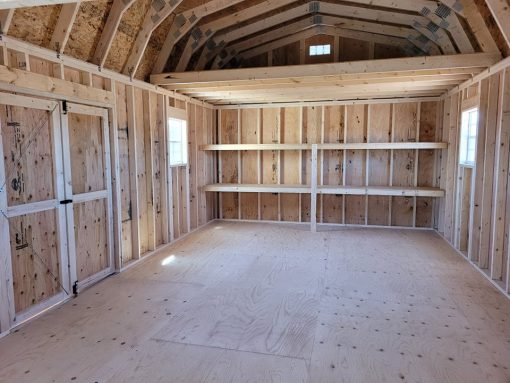 14x28 Barn Style Shed 2