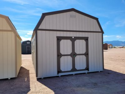 14x28 Barn Style Shed 12