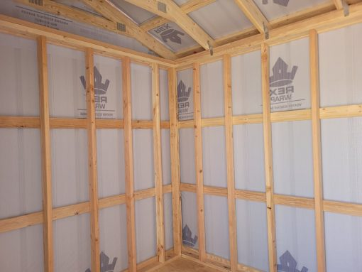 8x12 Gable Style Shed 7
