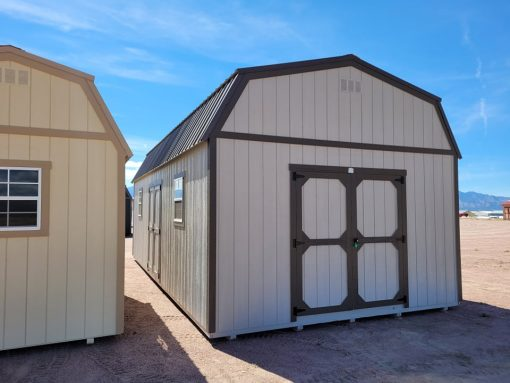 14x28 Barn Style Shed 1