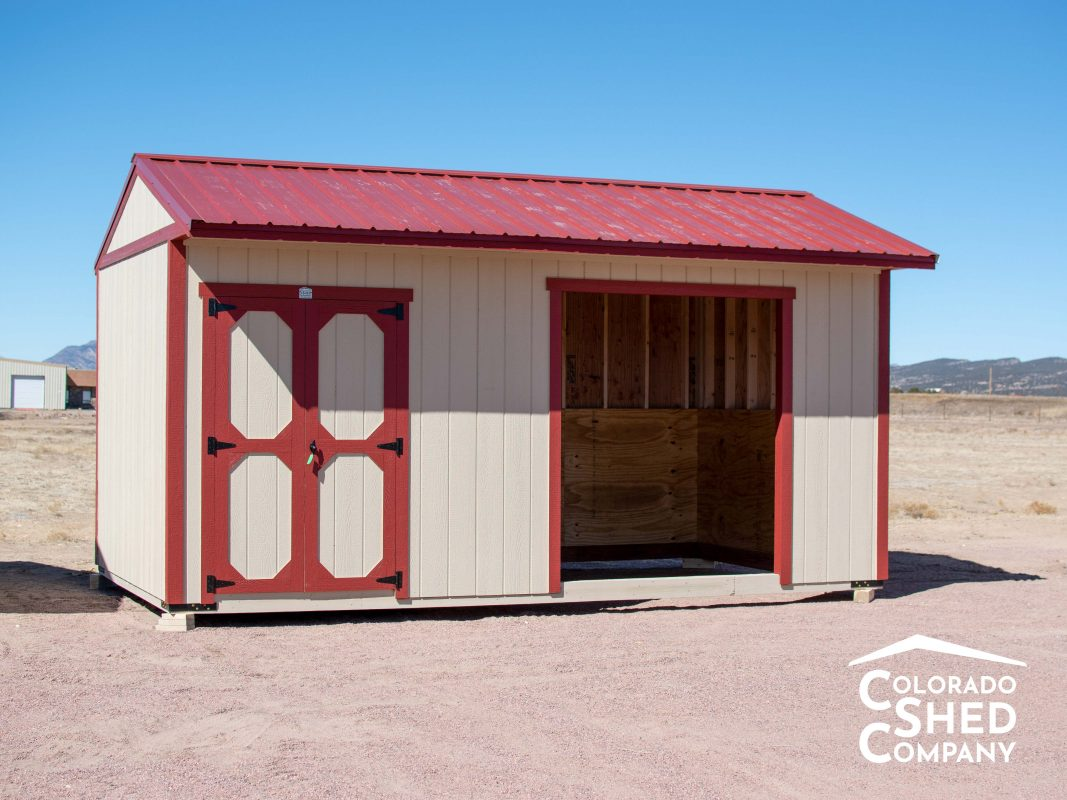 Loafing Shed with Tack Room 1