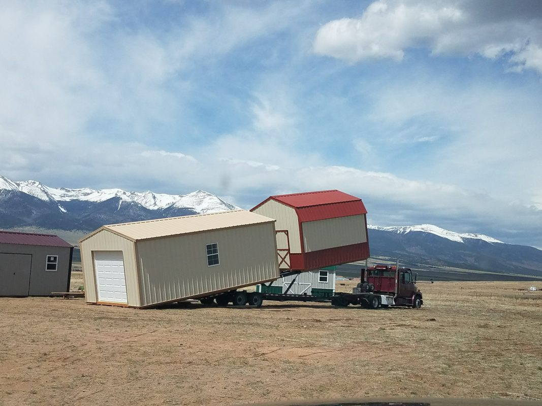 Storage Sheds Delivered or Built Onsite? 4
