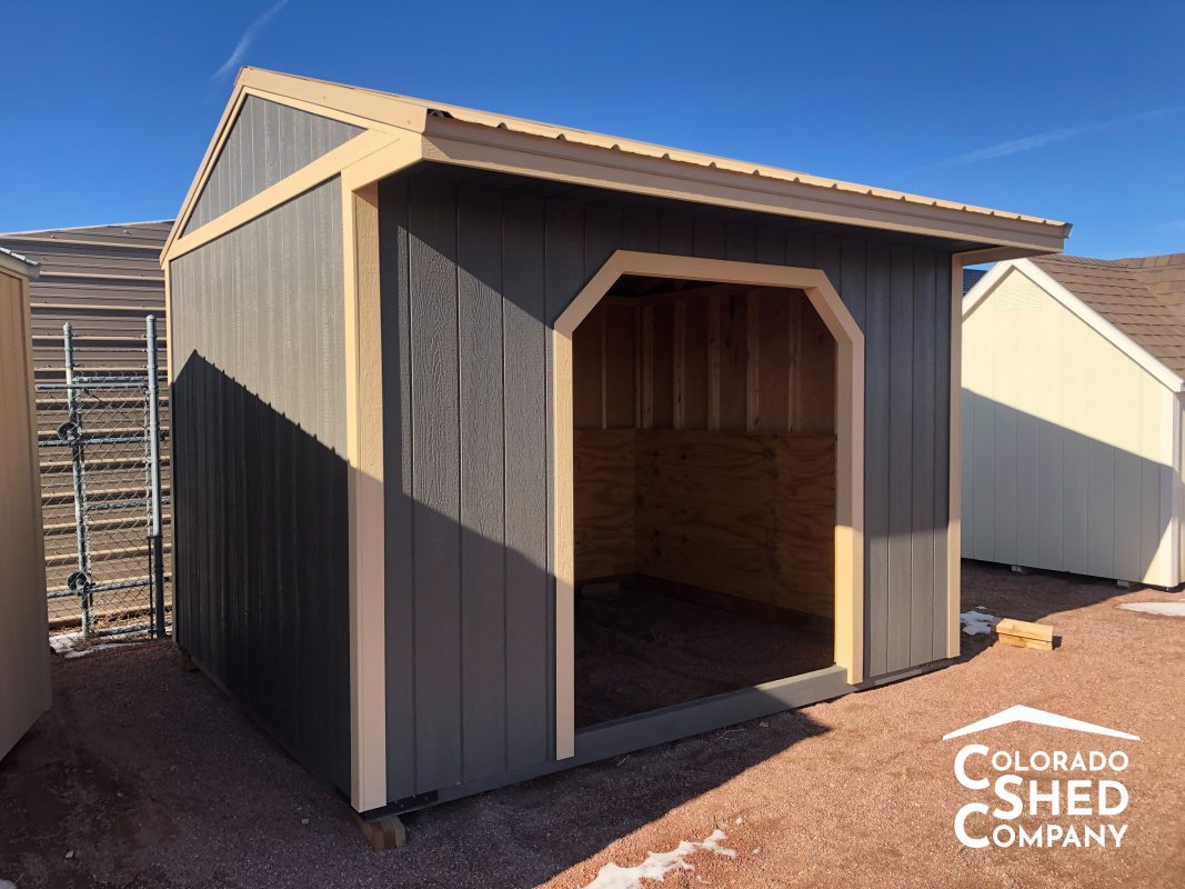 10x12 Run In Shed