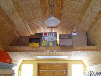 The Lofted High Barn, The Shed With A Loft 8