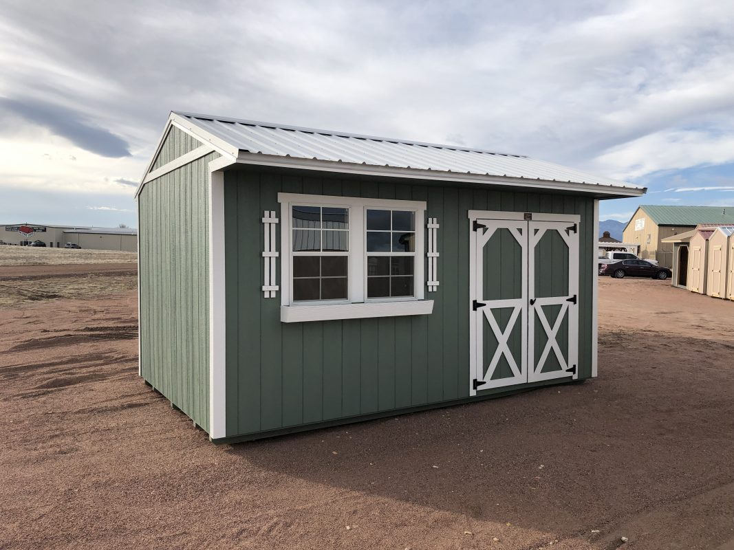 High Quality, Economical Storage Sheds Available to Colorado Springs 2