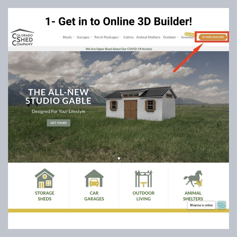 How To Use Online 3D Shed Builder 3