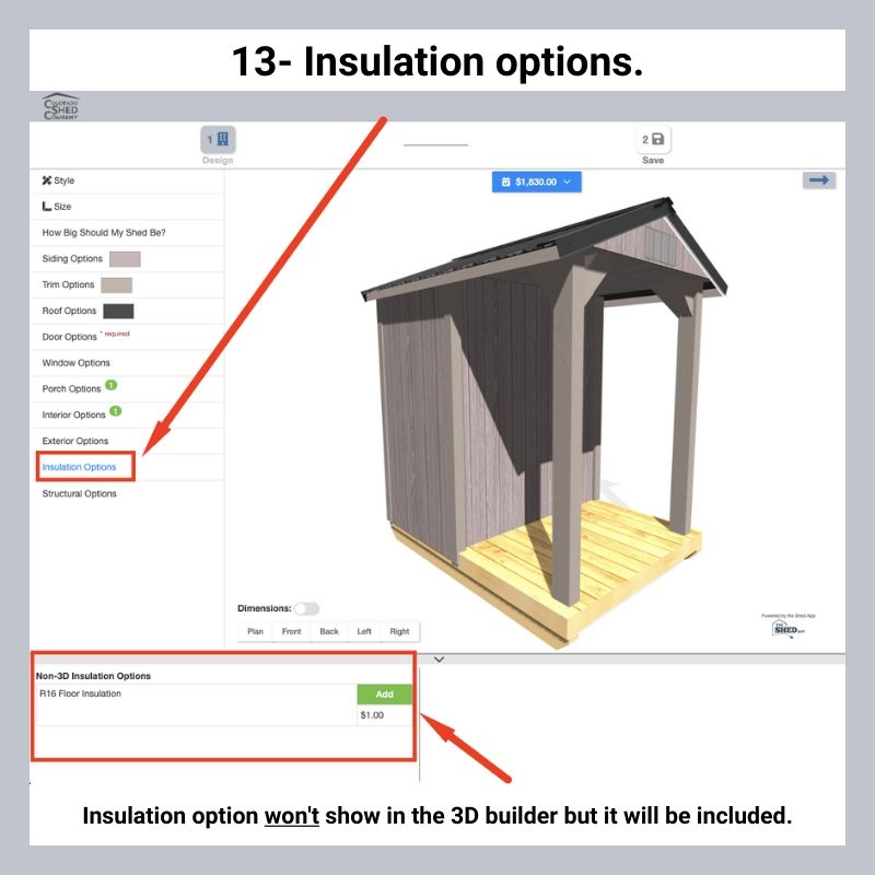 How To Use Online 3D Shed Builder 15