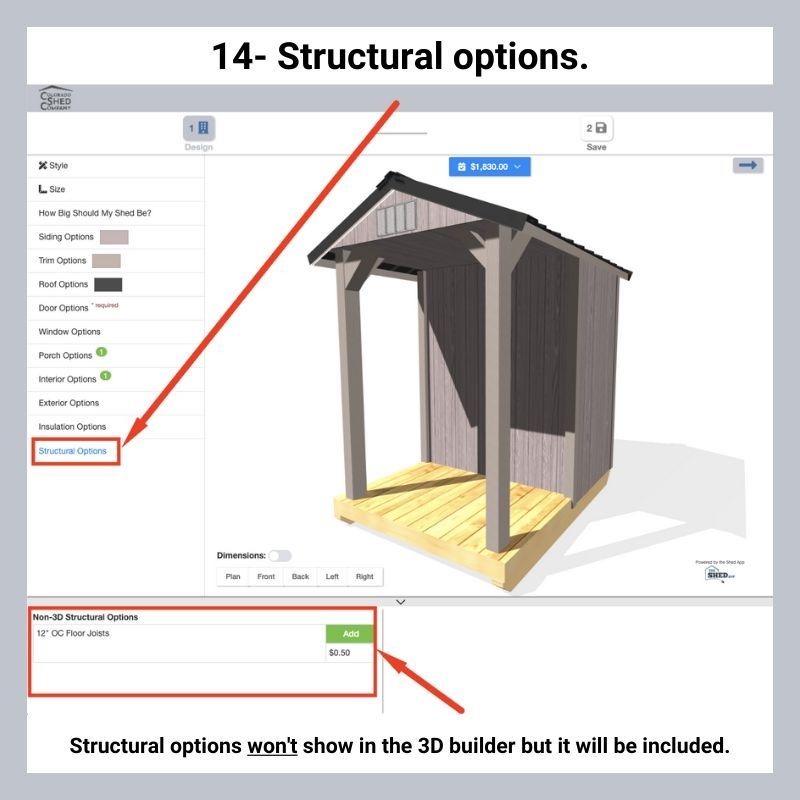 How To Use Online 3D Shed Builder 16