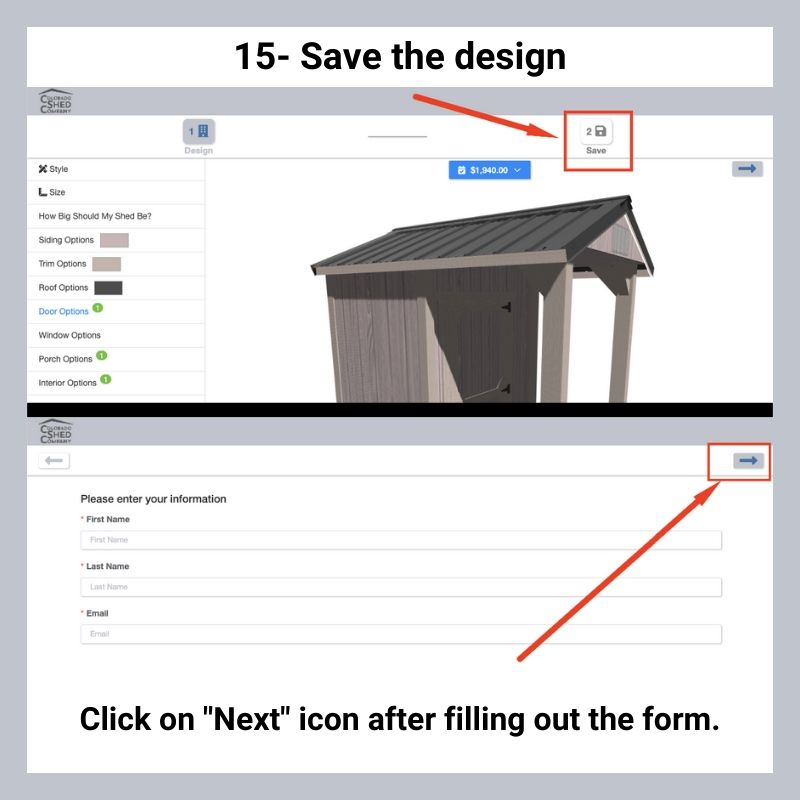 How To Use Online 3D Shed Builder 17