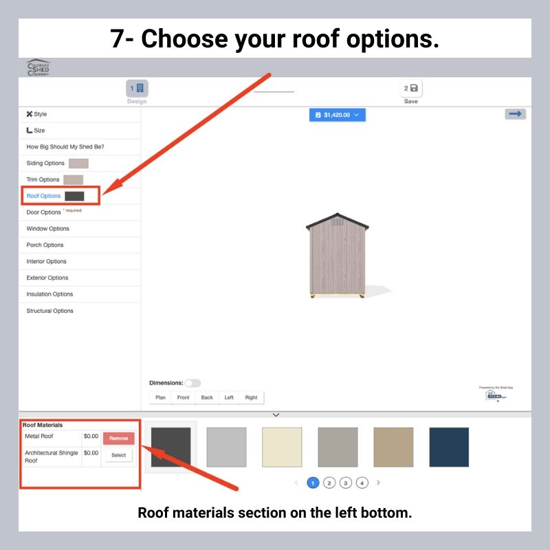 How To Use Online 3D Shed Builder 9