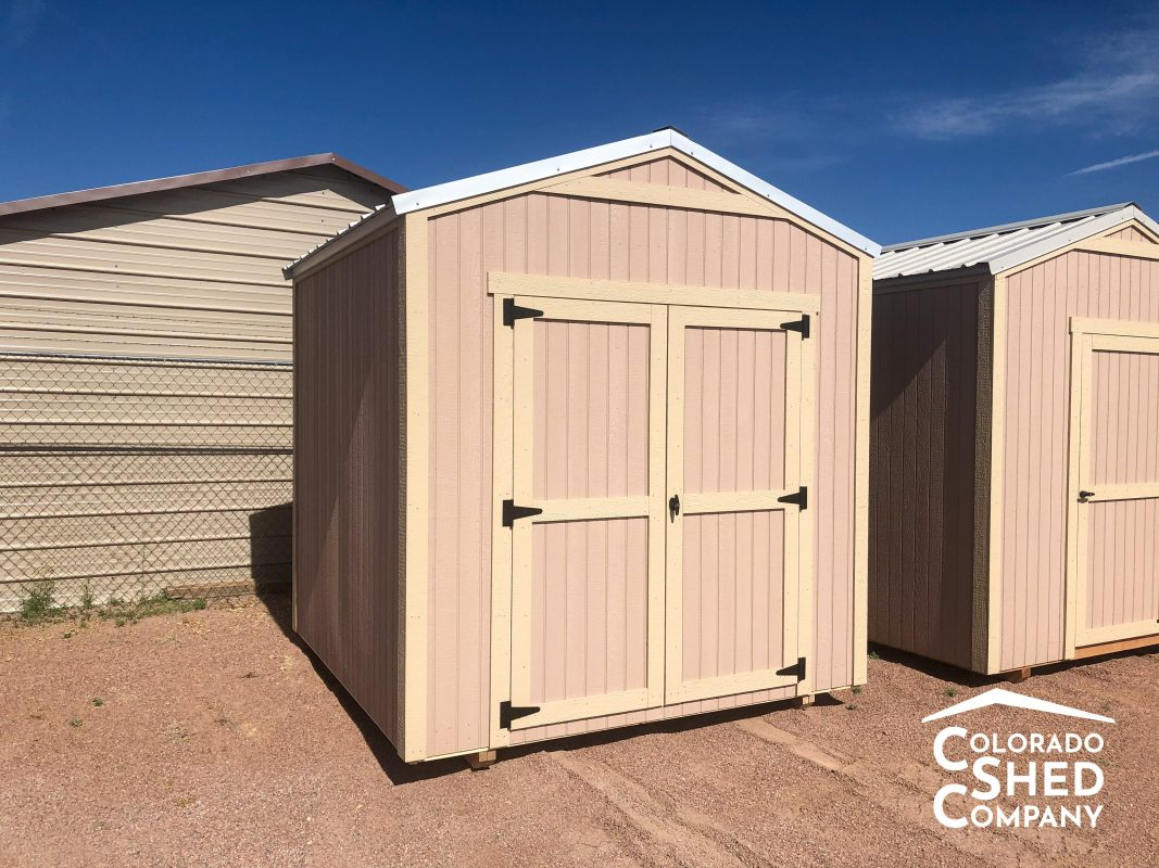 gable shed in westcliffe colorado